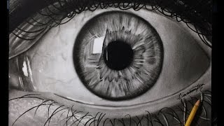 How to Draw a Realistic Eye! BEST tutorial - Step by Step