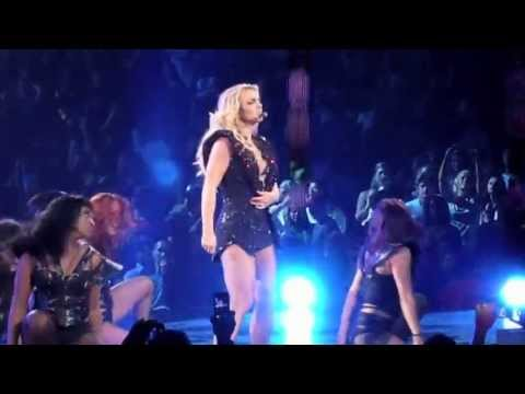 Britney Spears - The Femme Fatale Tour - Till The World Ends