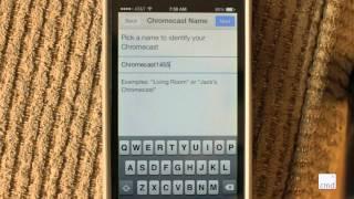 How To Setup ChromeCast With The ChromeCast App On An