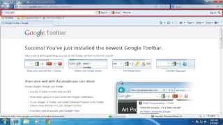 How To Add Google Toolbar In Windows 7