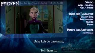 Frozen In Hindi For The First Time In Forever (Fandub