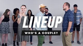 People Guess Who's a Couple from a Group of Strangers - Lineup