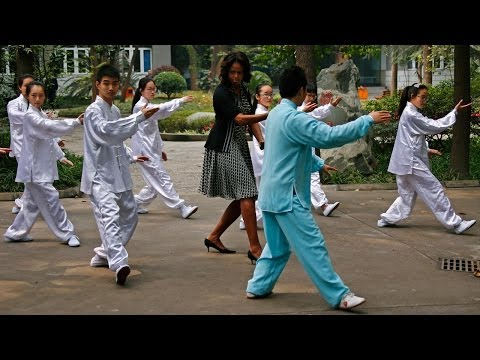 Under Social Media's Magnifying Glass, Michelle Obama Visits China
