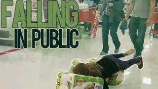 FALLING IN PUBLIC