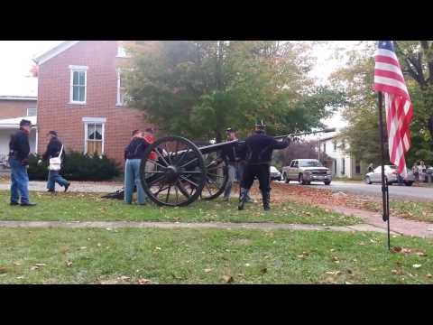 General Sherman's Civil War Cannon