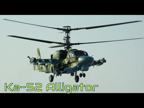 Kа-52 - flight bows Alligator, aerobatics pilot test