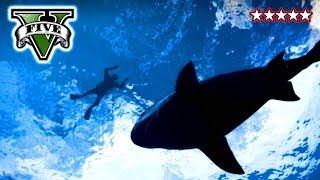 GTA 5 SHARK ATTACK Hunting Sharks On GTA V Funny Crew