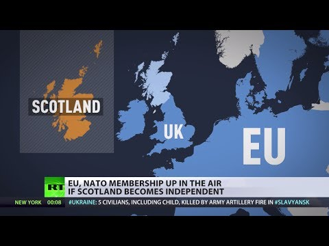 100 Days To Go: Scotland to vote on independence, might risk EU, NATO membership