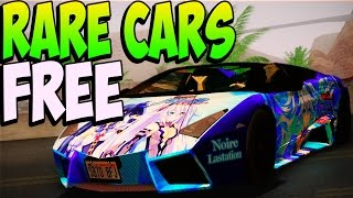 GTA 5 Online RARE CARS FREE Location After Patch 1.20