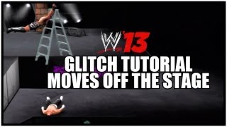 WWE 13 Glitch Tutorial: How To Do Moves Off The Stage