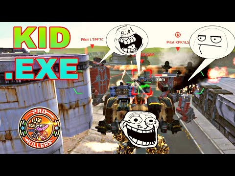 KID .ExE ep-1(WAR ROBOTS TITAN FUNNY VIDEO)