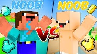 Khi Anh Em NOOB Học Xây Nhà Trong Minecraft