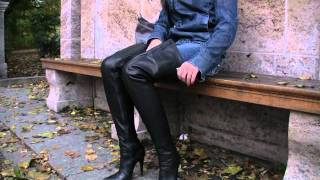 Anna In Fernando Berlin Thigh High Leather Boots