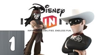 Disney Infinity: The Lone Ranger Part 1 (Lets Play