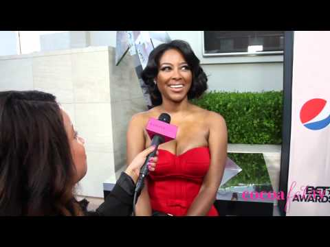 Kenya Moore Talks RHOA Rumors, Her African Prince & Having A Baby
