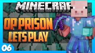 Minecraft OP PRISON: #6 - FORTUNE 100 PICKAXE (OP Prison Gameplay/Let's Play)