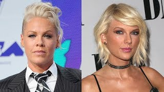 Pink REGRETS Saying She's Team Taylor Swift & Here's Why