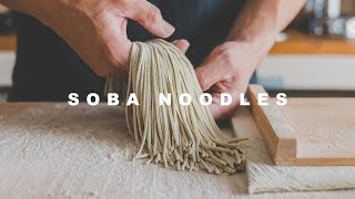[what I eat] soba noodles ☆ 夏の新そばを打ったよ!