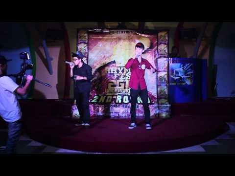 [RHYMES FES 2012] ROUND 2 - JOHNIZZLE (SR-001)