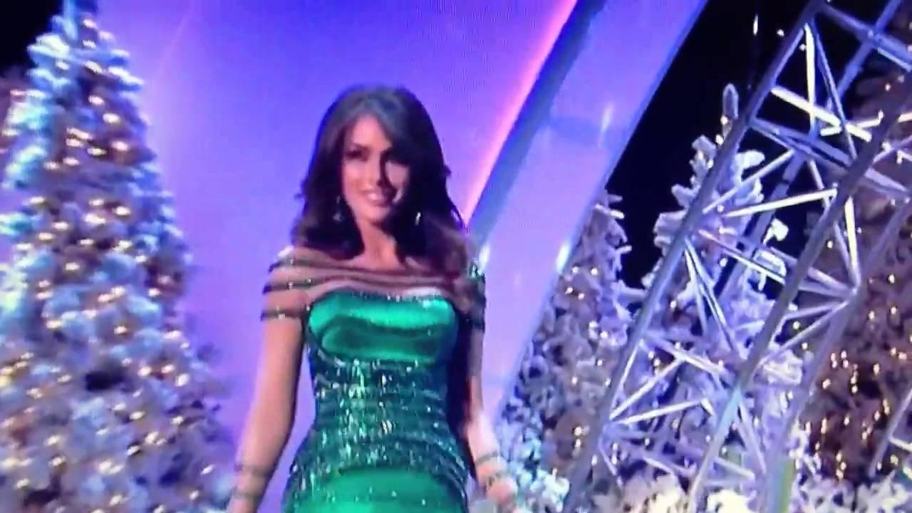 Miss Universo 2012 Competencia En Vestido De Noche | miss