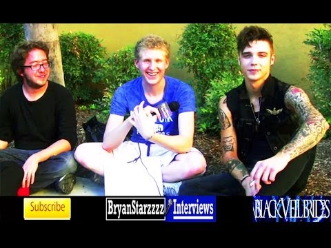 Black Veil Brides Interview #7 Andy Biersack Featuring Joe Flanders & Patrick Fogarty 2014