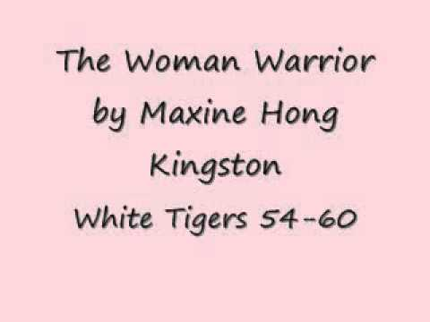 an analysis of white tigers by maxine hong kinston An abc book in black & white photos using hawaiian  tigers, frogs and rice cakes  includes 25 selections from frank chin, maxine hong kinston.