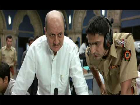 A Wednesday ! - Naseruddin Shah threatens Anupam Kher HD