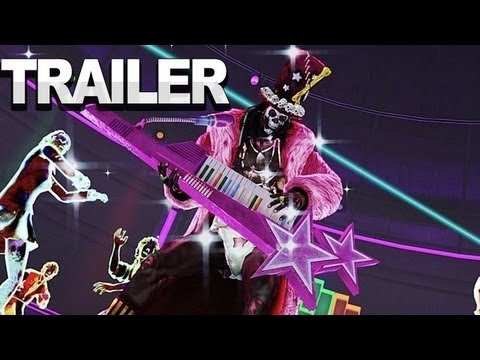 Lollipop Chainsaw - Bosses of Zombie Rock Trailer