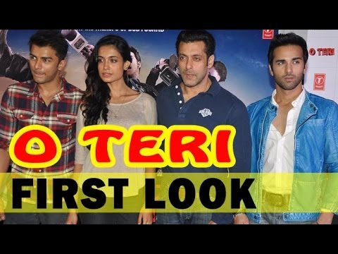 Salman Khan, Pulkit Samrat And Sarah Jane Dias At 'O Teri' Trailer Launch