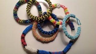 How To Make A Rainbow Loom Nautique Bracelet