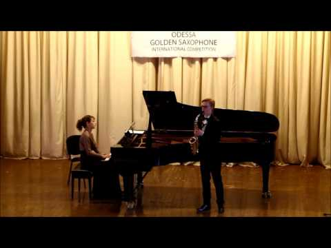 Golden Saxophone 2015 – Versavel Wouter – Alfred Desenclos Prelude cadence,et finale