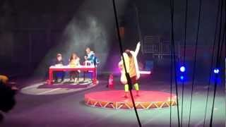 "Ringling Bros. Circus 143rd edition ""Built To Amaze"" Talent Show Clown Gag"