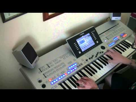 Pirates Of The Caribbean - He's A Pirate -  Yamaha Tyros 4 - HD