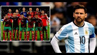 بالفيديو..منتخب ميسي يرفض إجراء مباراة ودية مع المنتخب المغربي قبل مونديال روسيا وهاعلاش |