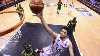 Afrobasket 2013 - Senegal 63 - 70 Egypte
