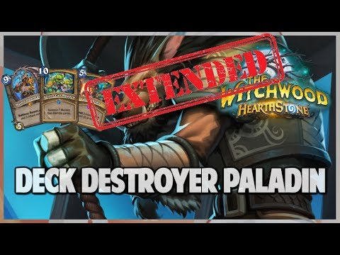 Deck Destroyer Paladin | Extended Gameplay | Hearthstone | The Witchwood