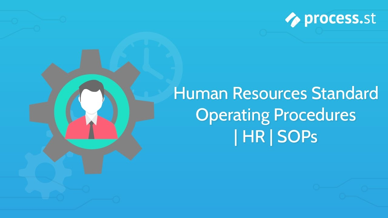 human resource procedure manual template