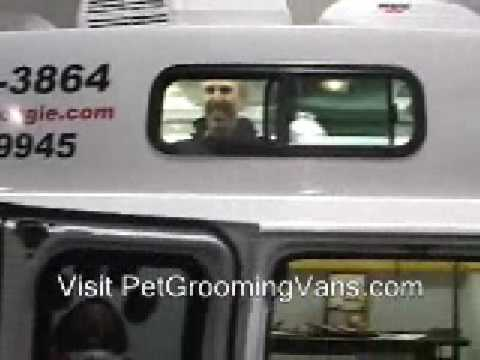 Mobile Pet Grooming Vans for Sale