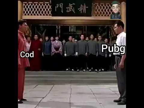 pubg vs cod funny action fight must watch video😂😂😍😍