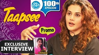 Promo: Exclusive interview with actress Taapsee