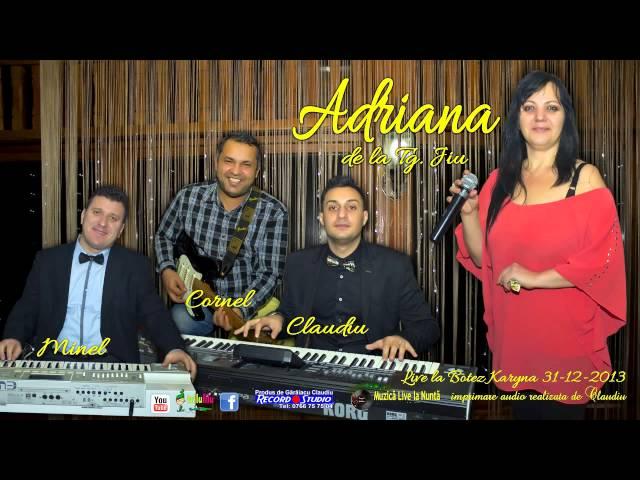 Adriana de la Tg.Jiu - Ce-l mai fericit parinte LIVE Imprimare Audio: Claudiu / Record Studio