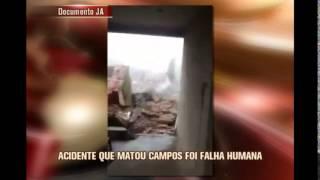 Acidente que matou Campos foi sucess�o de falhas humanas, conclui Aeron�utica