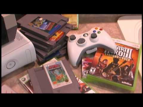 Classic Game Room - NES vs. XBOX 360 review