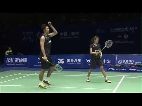 China Masters 2017 | Badminton SF M2-XD | Zhang/Li vs Liao/Chen