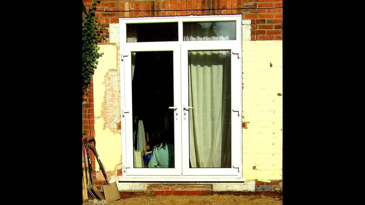 Used upvc patio doors for sale on ebay youtube for Patio doors for sale