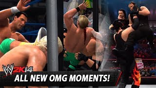 WWE 2K14: All New OMG Moments!