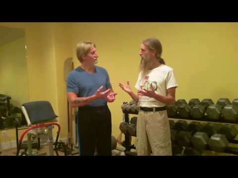 Hình ảnh trong video Building Muscle on a High Raw, Vegan Diet with
