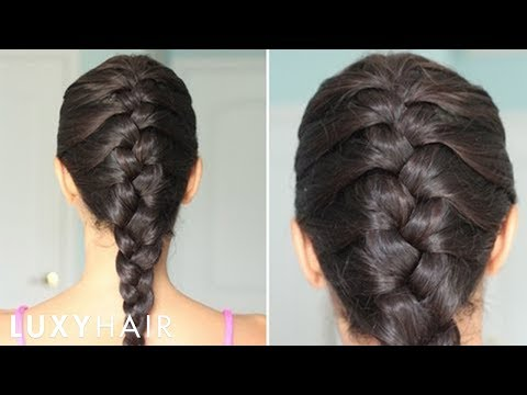 How to Do a French Braid to the Side of Steps