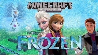 Minecraft Xbox 360 Noteblock Song FROZEN Soundtrack