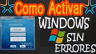 """Como Quitar Mensaje """"Esta Copia De Windows No Es Original"""